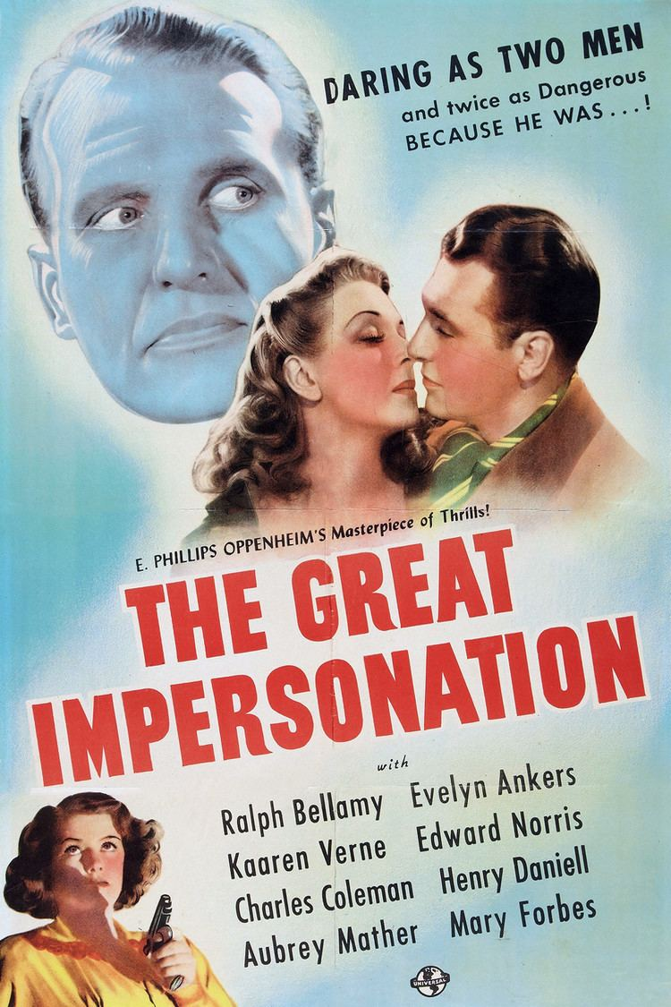 The Great Impersonation (1942 film) wwwgstaticcomtvthumbmovieposters40208p40208