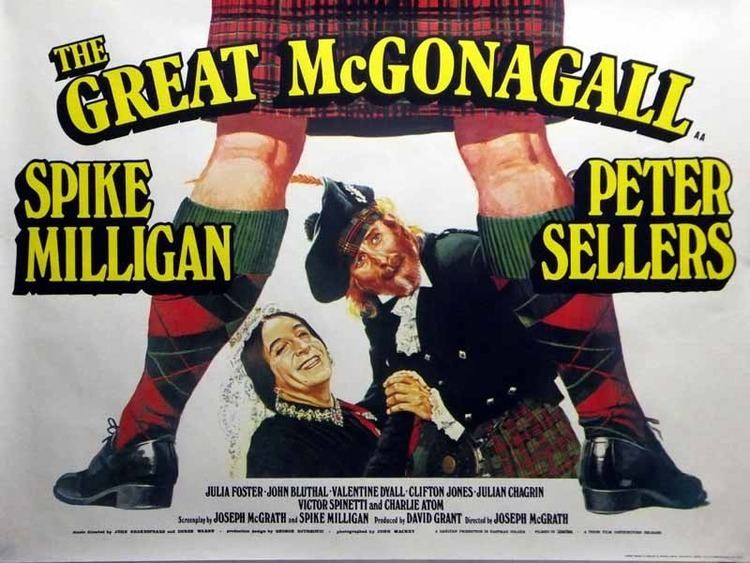 The Great McGonagall (film) Tom Chantrell Posters The Great McGonagall Chantrell Poster 1974 1974
