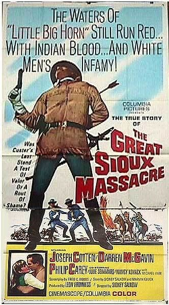 The Great Sioux Massacre Great Sioux Massacre movie posters at movie poster warehouse