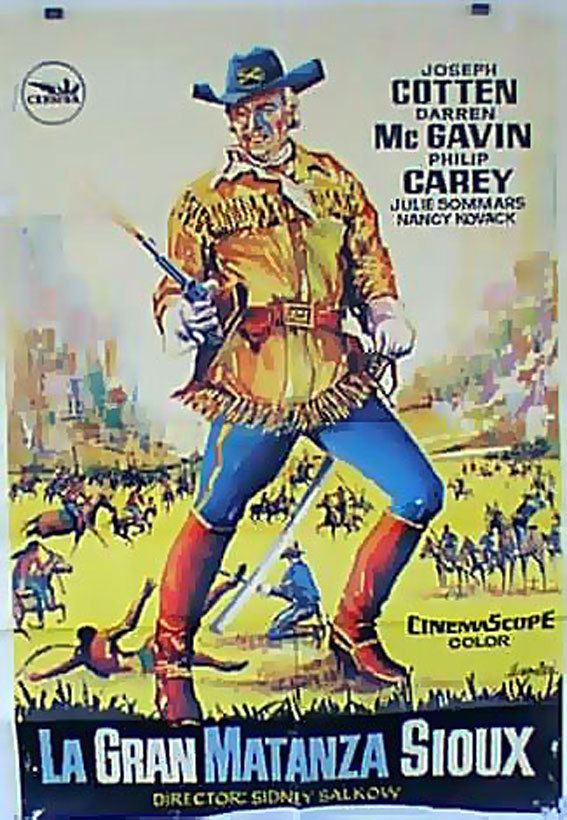The Great Sioux Massacre GRAN MATANZA SIOUX LA MOVIE POSTER THE GREAT SIOUX MASSACRE