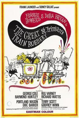 The Great St Trinians Train Robbery movie poster