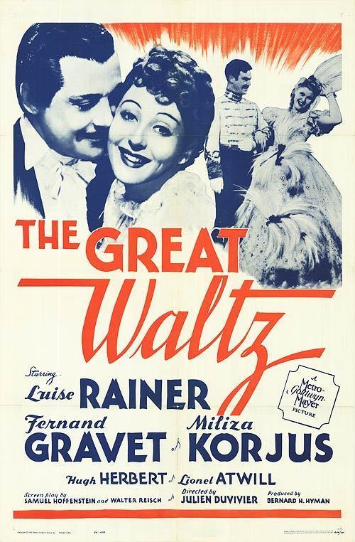 The Great Waltz (1938 film) Great Waltz movie posters at movie poster warehouse moviepostercom