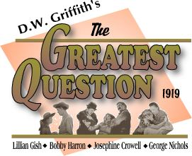 The Greatest Question The Greatest Question commentary