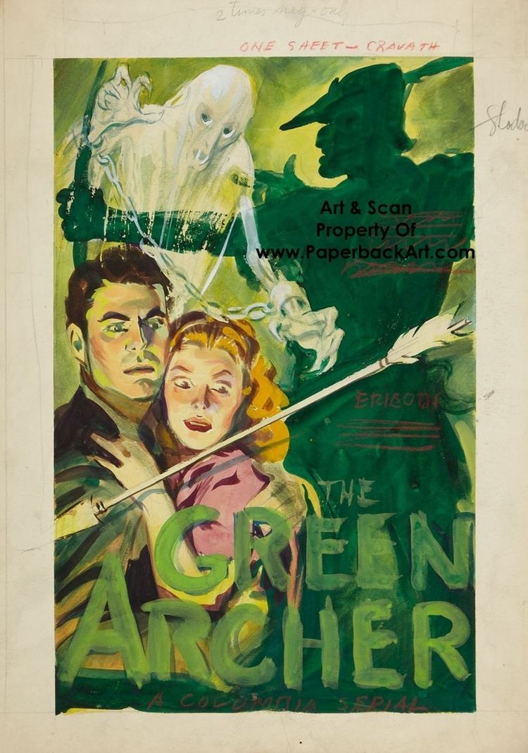 The Green Archer (1940 serial) The Green Archer Green Arrow 1940 Movie Poster Art in Paperback
