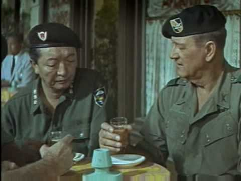 The Green Berets (film) the green berets 1968 YouTube