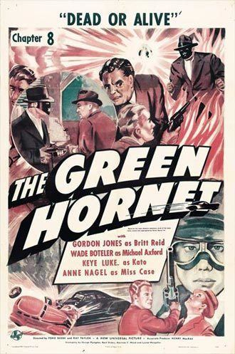 The Green Hornet (serial) The Green Hornet Ford Beebe Ray Taylor 1940 SciFiMovies