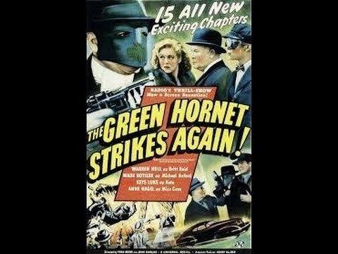 The Green Hornet Strikes Again! The Green Hornet Strikes Again Chapter 1Flaming Havoc YouTube