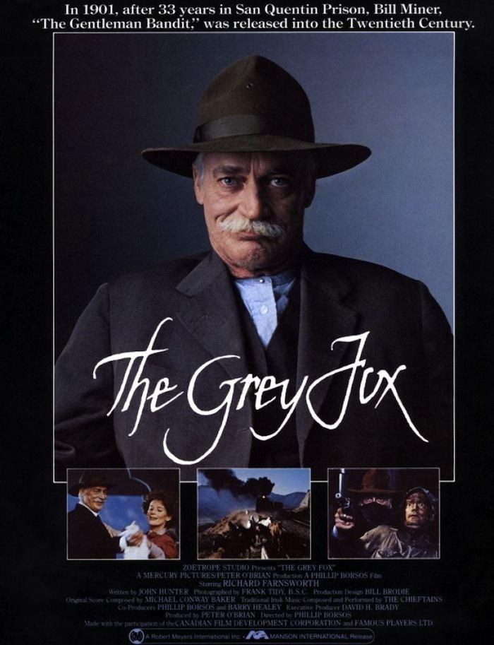 The Grey Fox Post50s Western Bluray News 197 The Grey Fox 1982 50