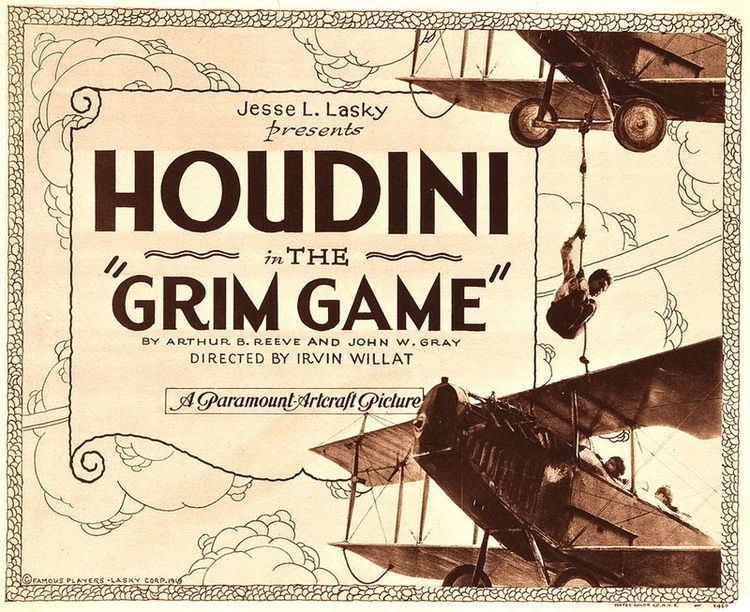 The Grim Game Card harryhoudinicircumstantialevidencecom