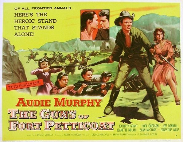 The Guns of Fort Petticoat Lauras Miscellaneous Musings Tonights Movie The Guns of Fort