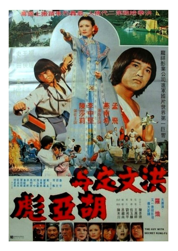 The Guy with the Secret Kung Fu Kung Fu Movie Posters The Guy with Secret KungFu Cai yang nu