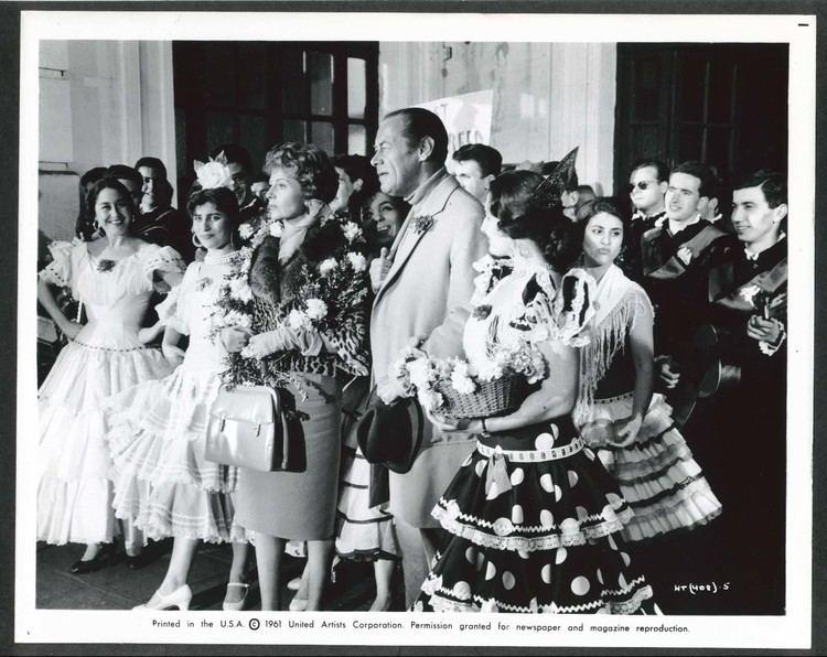 The Happy Thieves Rex Harrison Rita Hayworth The Happy Thieves Spanish dance 8x10