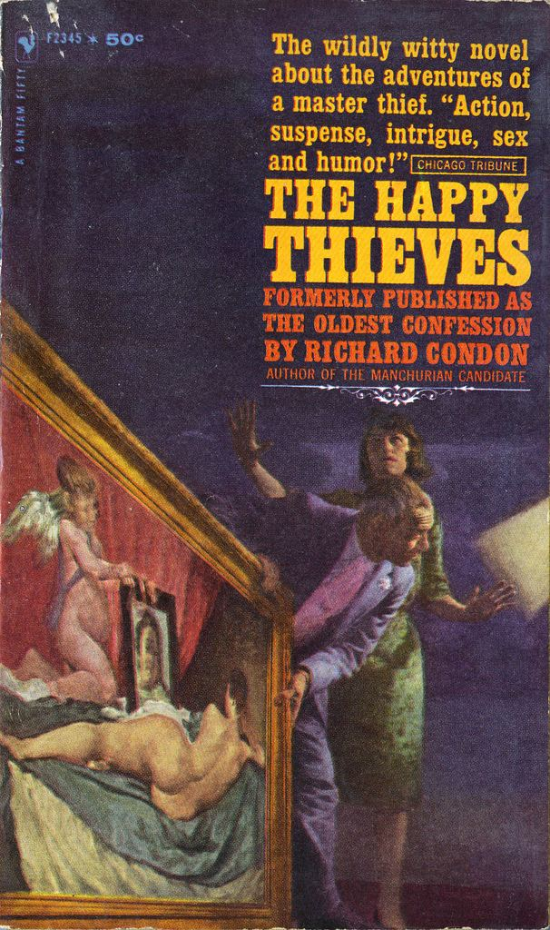 The Happy Thieves The Happy Thieves 1961 James Avati cover for Bantam Boo Flickr