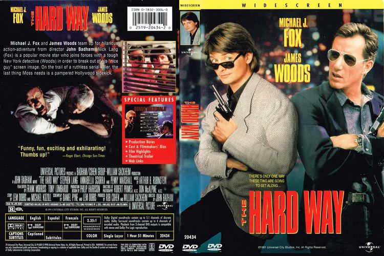 The Hard Way (1991 film) The Hard Way 1991 R1 Movie DVD Front DVD Cover
