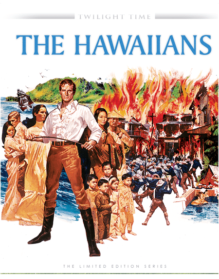 The Hawaiians (film) DVD REVIEW THE HAWAIIANS STARRING CHARLTON HESTON TWILIGHT TIME