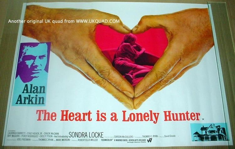 The Heart Is a Lonely Hunter (film) movie scenes This is a simple yet heartfelt and powerful adaptation of Carson McCullers autobiographical novel The central character of the film is a deaf mute named
