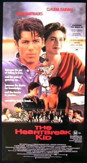 The Heartbreak Kid (1993 film) THE HEARTBREAK KID 1984 Alex Dimitriades Australian daybill movie poster