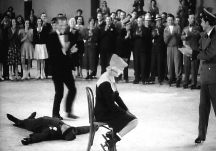 The Heiress movie scenes In There Goes My Heart 1938 the heiress wins a contest at a skating
