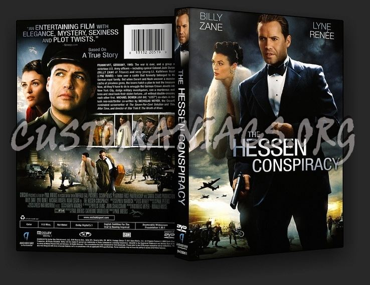 The Hessen Affair The Hessen Conspiracy dvd cover DVD Covers Labels by