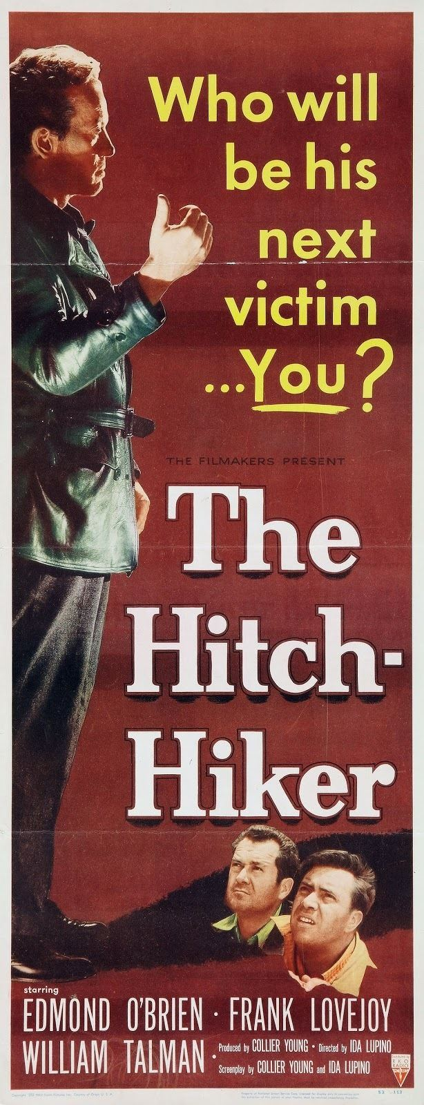 The Hitch-Hiker The HitchHiker 1953 Film Noir of the Week
