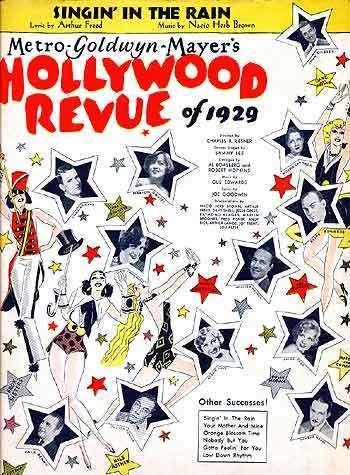 The Hollywood Revue of 1929 The Hollywood Revue of 1929 Songbook