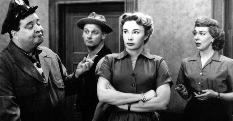 The Hooneymooners Jackie Gleason Audrey Meadows Black Large Matted Photo Picture