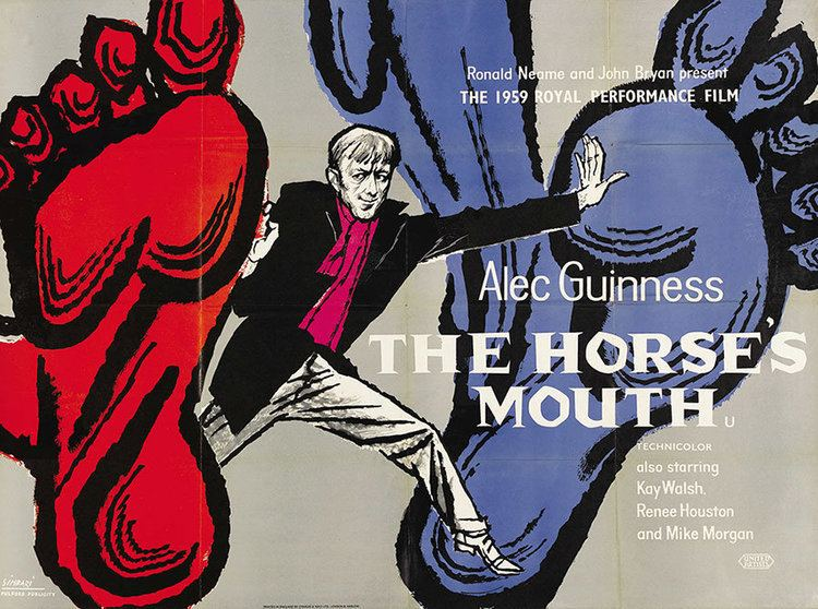 The Horse's Mouth (film) Movie Poster of the Week The Horses Mouth and the Notting Hill