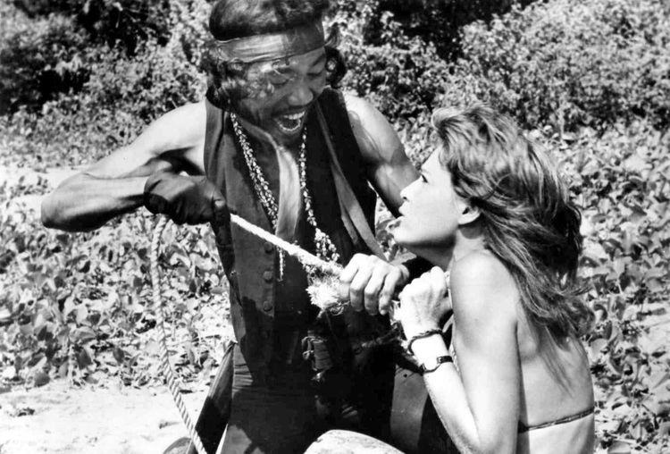 The Hot Box The Hot Box movie still 1972 L to R Rocco Montalban Laurie Rose