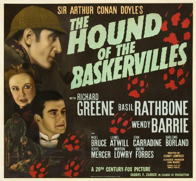 The Hound of the Baskervilles (1939 film) Basil Rathbone Master of Stage and Screen The Hound of the