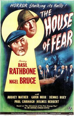The House of Fear (1915 film) The House of Fear 1945 film Wikipedia
