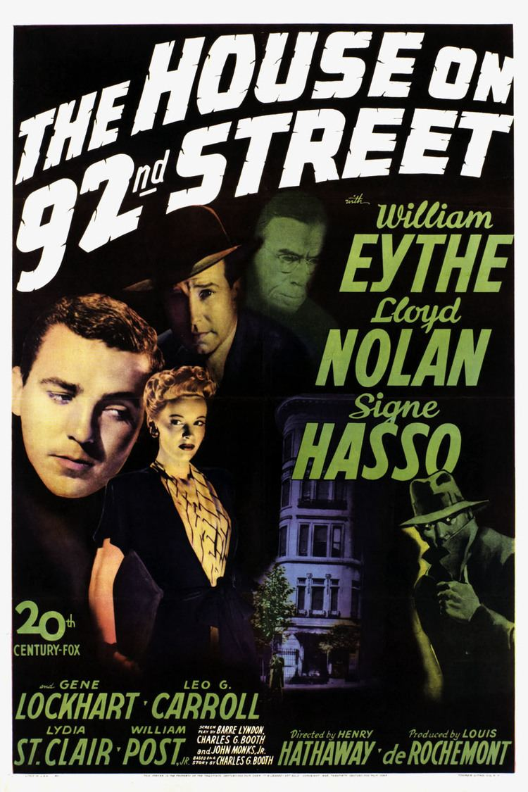 The House on 92nd Street wwwgstaticcomtvthumbmovieposters2298p2298p