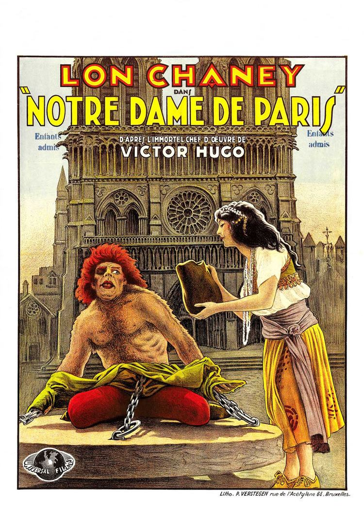 The Hunchback of Notre Dame (1923 film) The Hunchback of Notre Dame 1923 Lon Chaney Patsy Ruth Miller