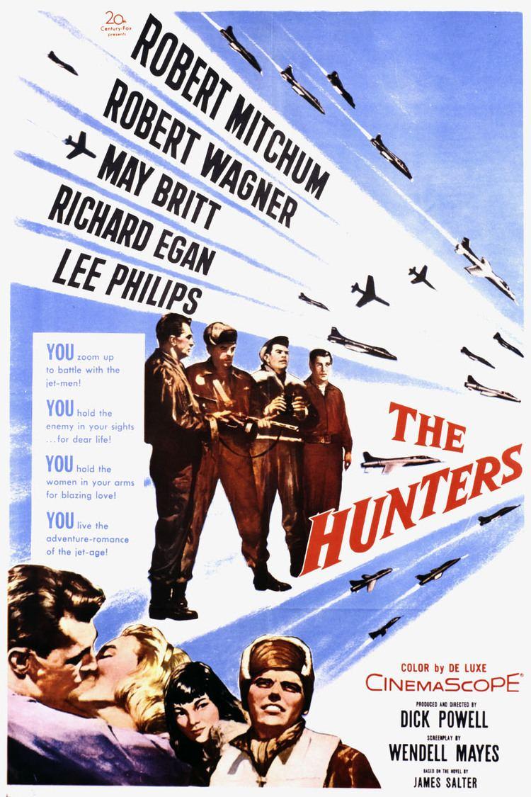 The Hunters (1958 film) wwwgstaticcomtvthumbmovieposters7815p7815p