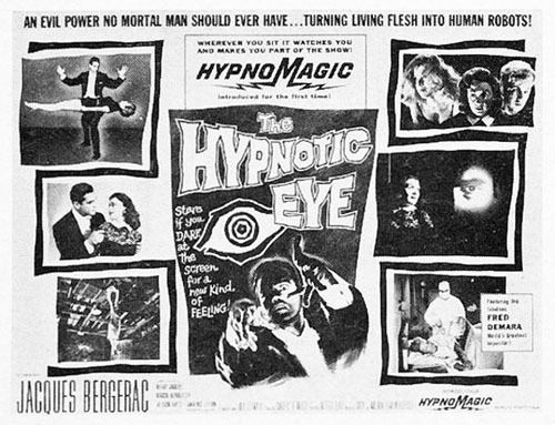 The Hypnotic Eye Streamline The Official Filmstruck Blog Scarred by THE HYPNOTIC EYE