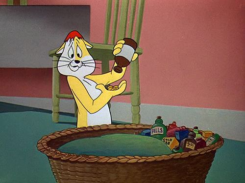 The Hypo-Chondri-Cat Movie Quote of the Day The HypoChondriCat 1959 Living in Cinema