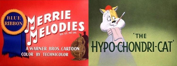 The Hypo-Chondri-Cat movie scenes Merrie Melodies 1 3 The Hypo Chondri Cat