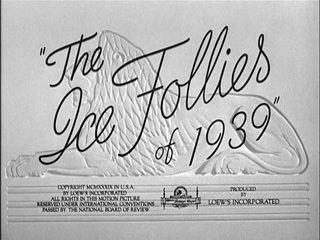 The Ice Follies of 1939 Its a Wonderful World 1939 WS Van Dyke Claudette Colbert