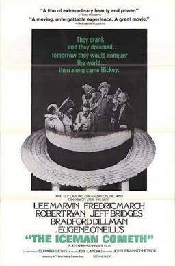 The Iceman Cometh (1973 film) movie poster