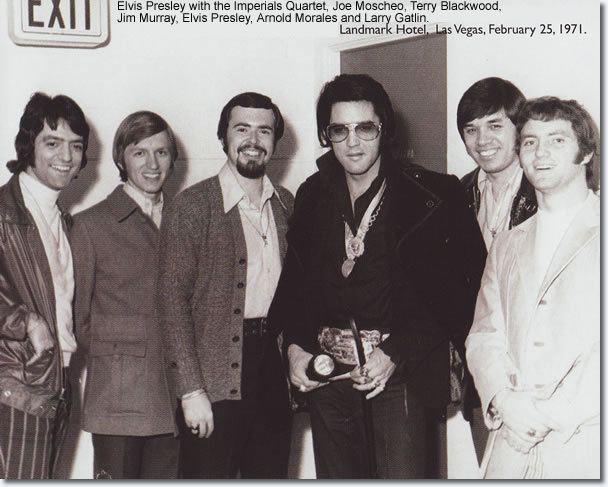 The Imperials Joe Moscheo Remembers Elvis Presley Elvis Interviews Elvis