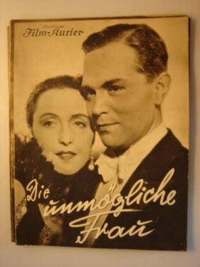 The Impossible Woman (1936 film) movie poster