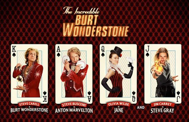 The Incredible Burt Wonderstone movie scenes  the incredible burt wonderstone 2013 What happens when you mix great character actors Steve Buschemi and Alan Arkin and funny men A listers Jim