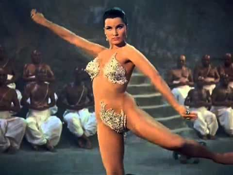 The Indian Tomb (1959 film) Debra Paget in Fritz Langs epic The Indian Tomb 1959 English Dub