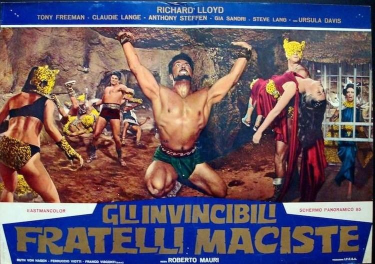 The Invincible Brothers Maciste The Invincible Brothers Maciste Limited Runs