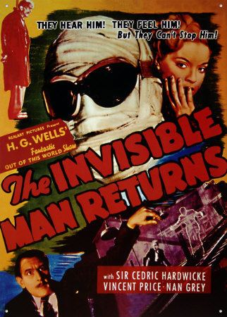 The Invisible Man Returns The Invisible Man Returns Lasers monsters and barbarians oh my