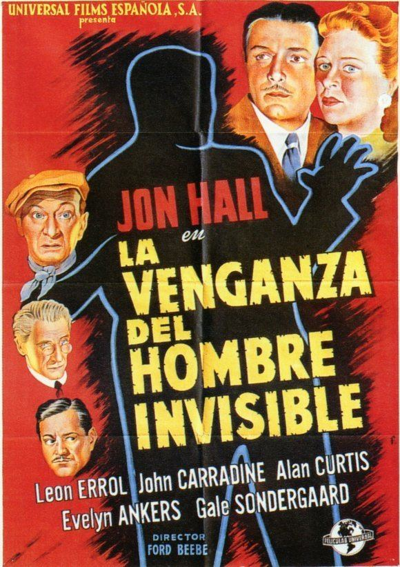 The Invisible Man's Revenge The Invisible Mans Revenge Movie Posters From Movie Poster Shop