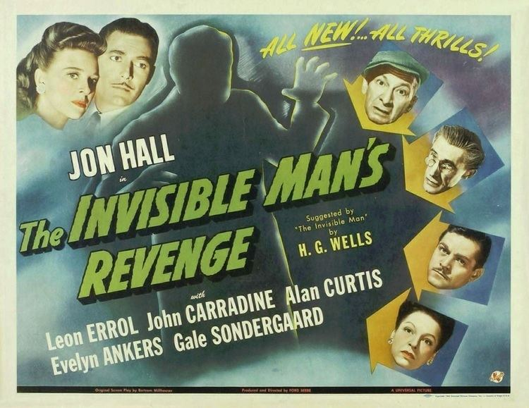The Invisible Man's Revenge Universal Monsters in Review The Invisible Mans Revenge 1944