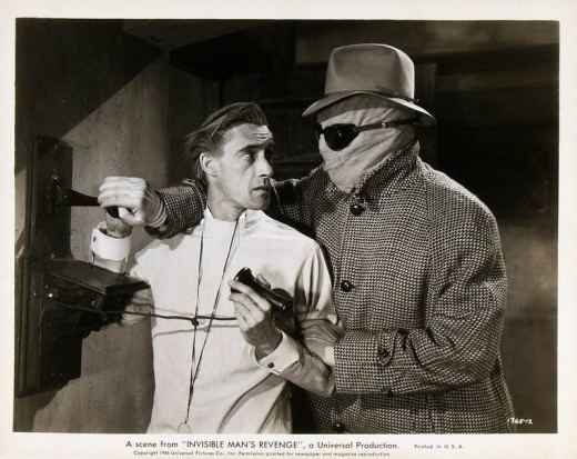 The Invisible Man's Revenge Nothing Will Stop Him The Invisible Mans Revenge 1944 The
