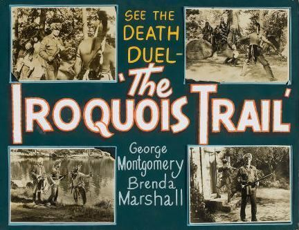 The Iroquois Trail IROQUOIS TRAIL 1950 GEORGE MONTGOMERY BRENDA MARSHALL for sale