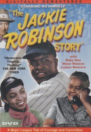 The Jackie Robinson Story Amazoncom The Jackie Robinson Story Slim Case Jackie Robinson