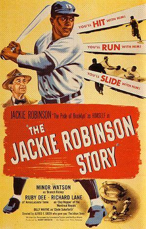 The Jackie Robinson Story Review The Jackie Robinson Story ErikLundegaardcom
